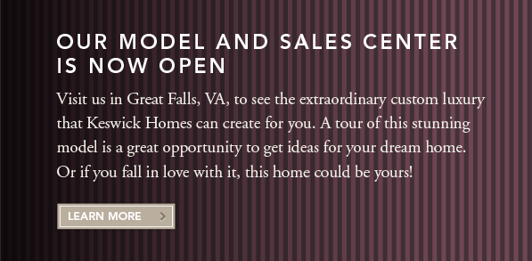 Our Model and Sales Center Is Now Open